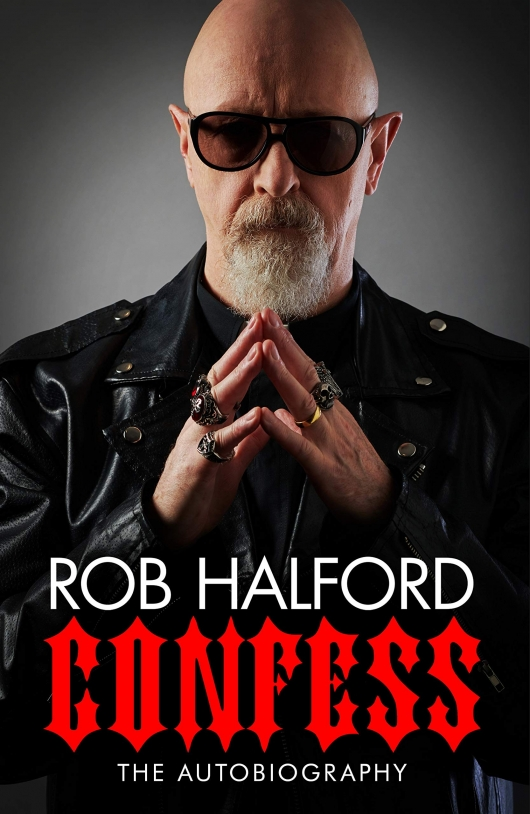 Rob Halford Confess: The Autobiography cover