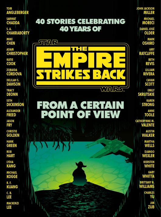 Star Wars From a Certain Point of View The Empire Strikes Back book cover