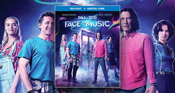 Bill and Ted Face the Music Blu-ray