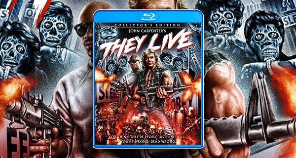 They Live Collectors Edition Blu-ray
