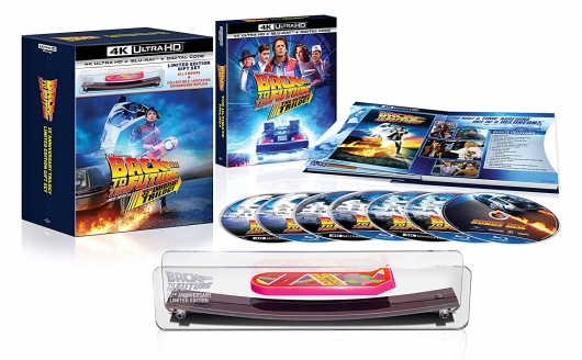 Back to the Future Trilogy Giftset 4k
