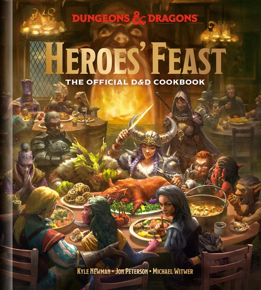 Heroes Feast: The Official D&D Cookbook