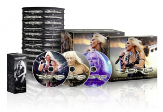 Doro - Magic Diamonds - Best of Rock, Ballads & Rare Treasures box set