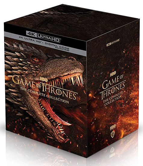 Game of Thrones: The Complete Collection 4k box set