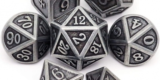 Metal Gaming Dice