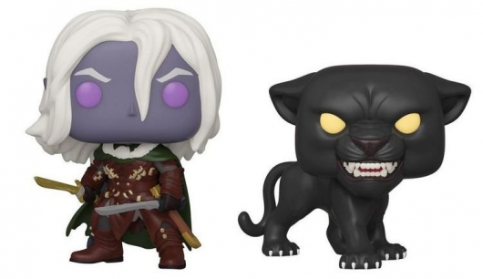 Funko Pop! Drizzt Do'Urden with Guenhwyvar