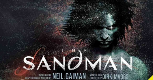 The Sandman audiobook audible banner