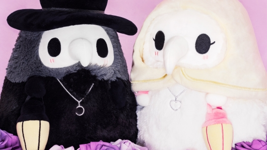 Squishable Plague Doctor and Nurse