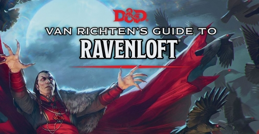 Van Richten's Guide To Ravenloft header