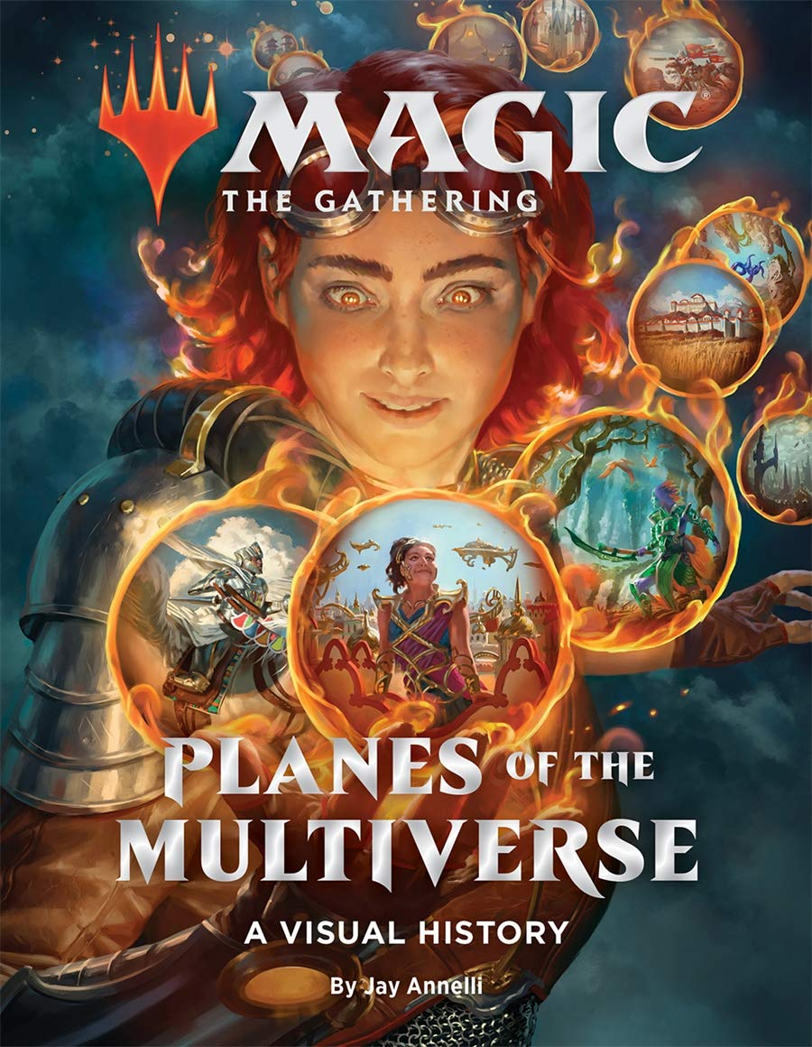 Magic: The Gathering: Planes of the Multiverse: A Visual History cover banner