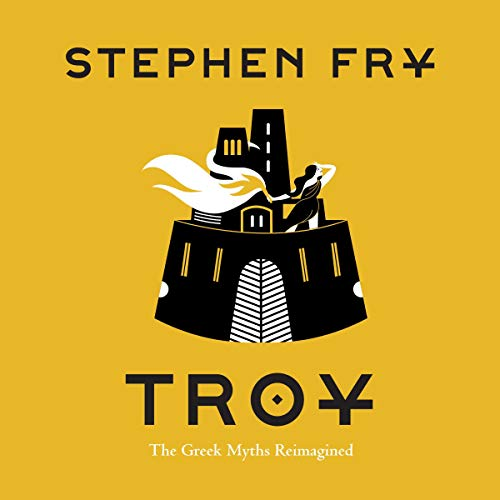Stephen Fry Troy book cover audiobook